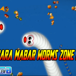 cara main bareng (mabar) worms zone zona cacing io
