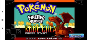 cara cheat pokemon fire red