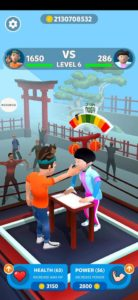 slap kings mod apk 1 hit
