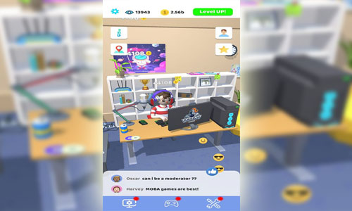 download idle streamer mod apk