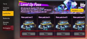 Level Up Pass FF